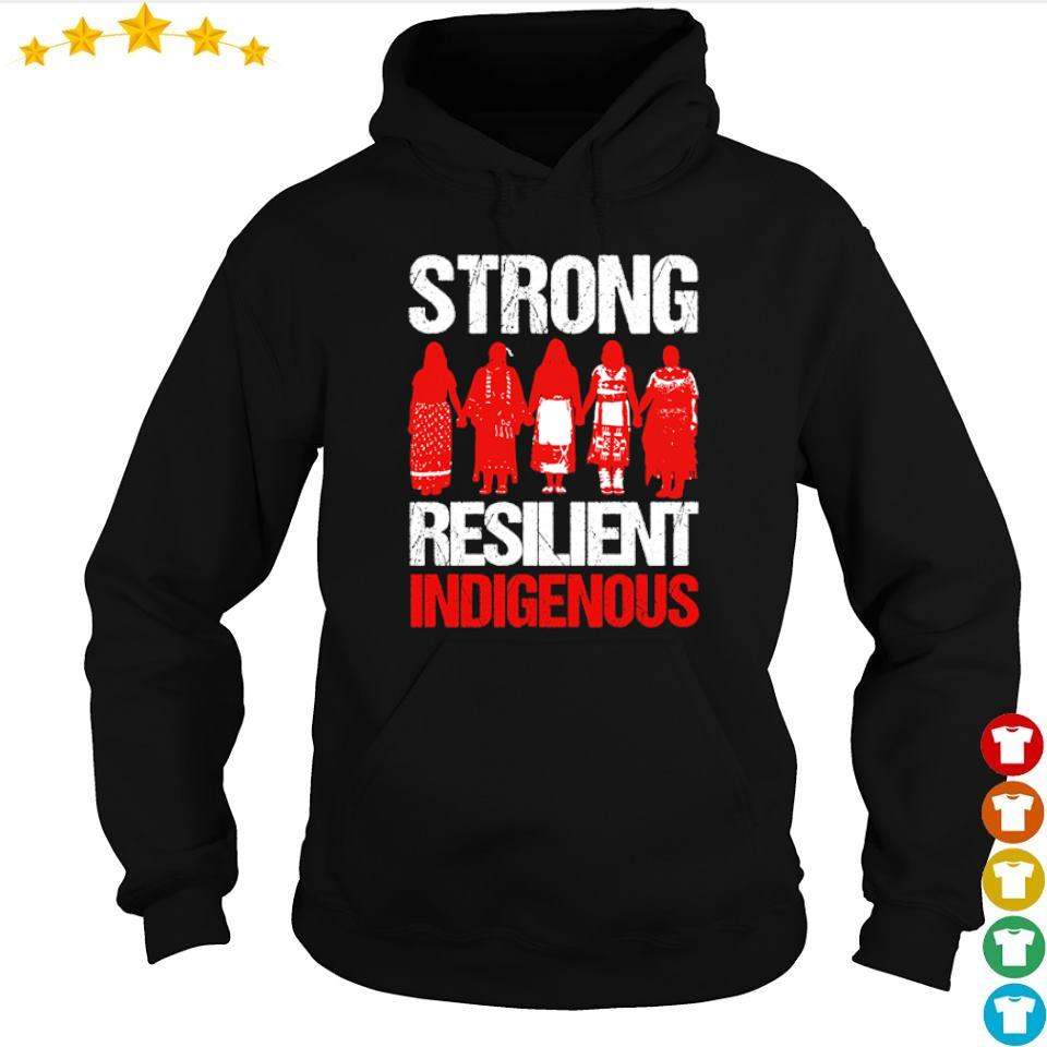 Native American woman strong resilient indigenous s hoodie