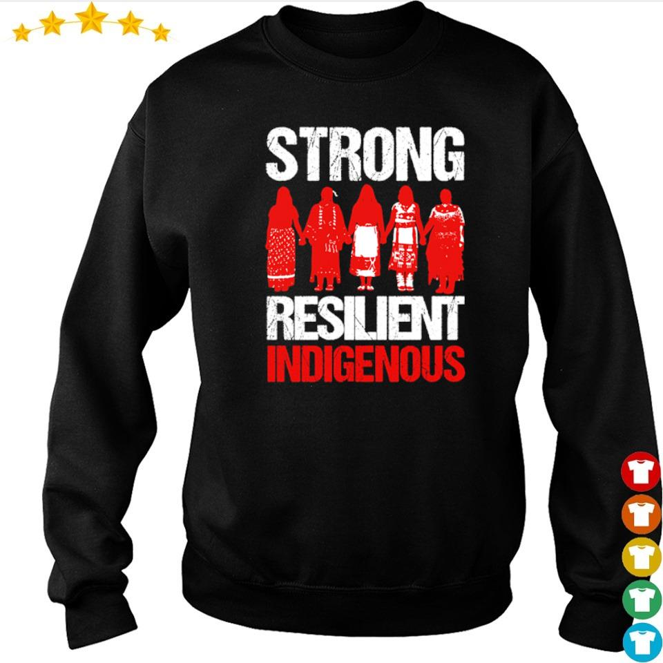 Native American woman strong resilient indigenous s sweater