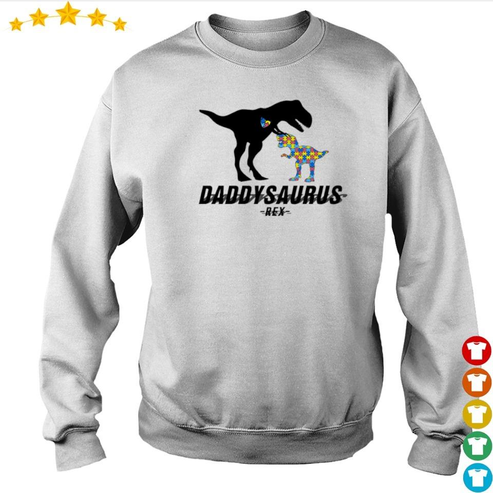 Official daddysaurus T Rex s sweater