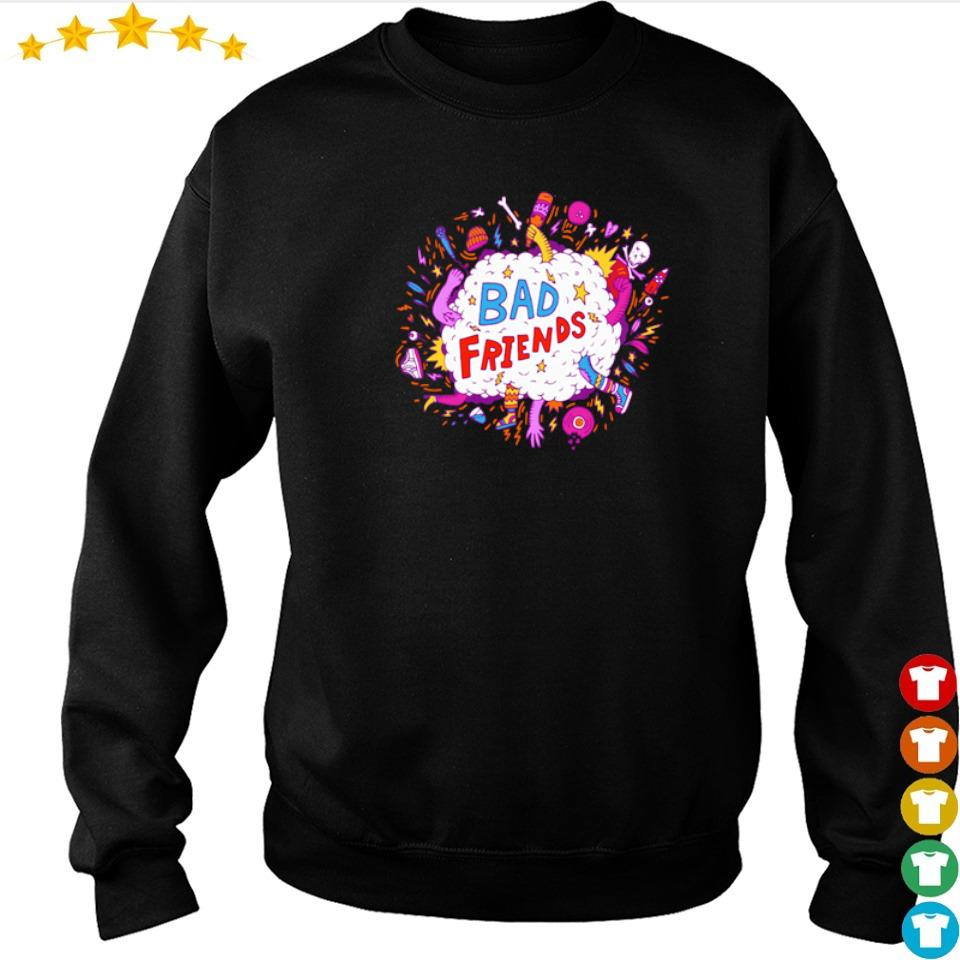 Official fighting bad friends s sweater