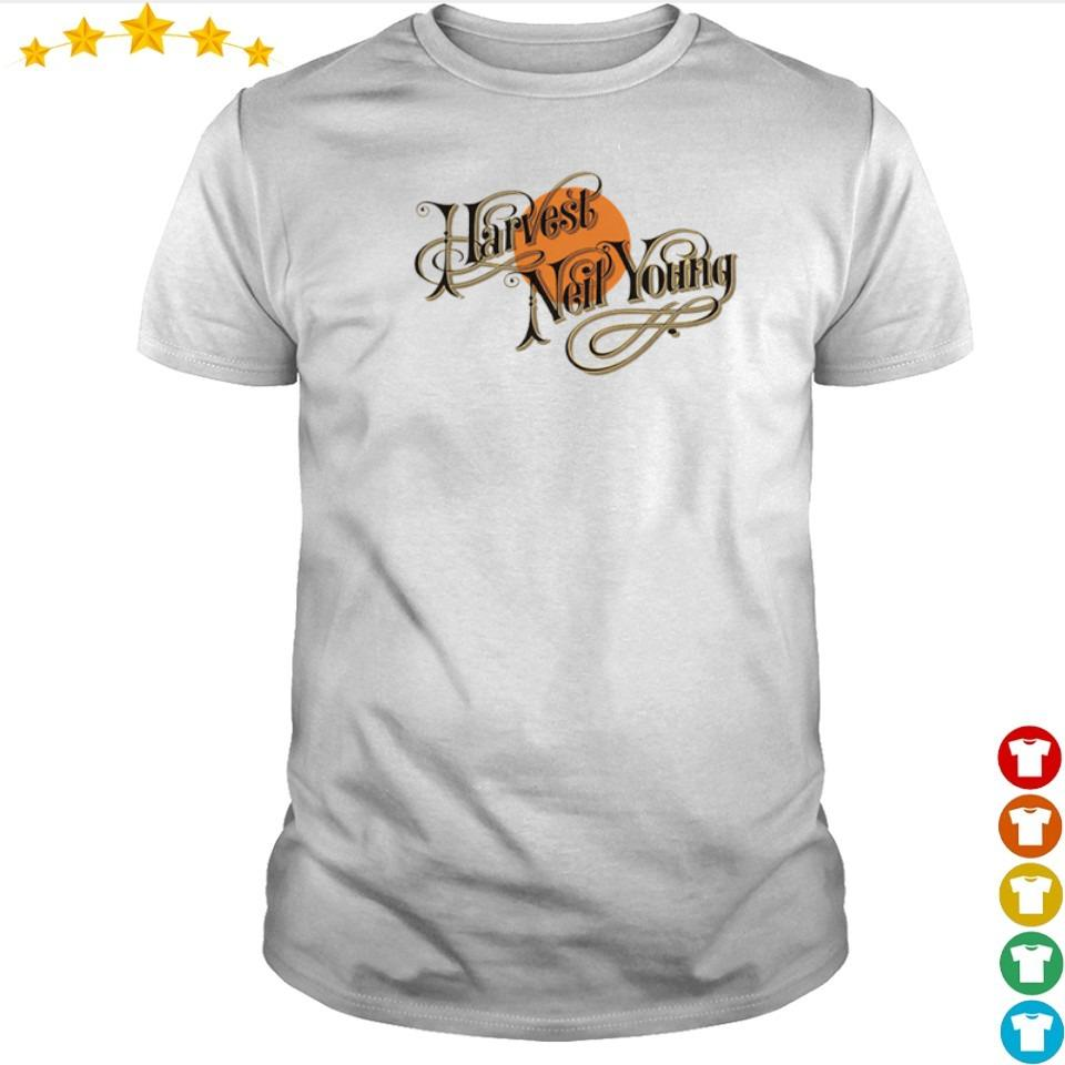 Official Harvest Neil Young shirt