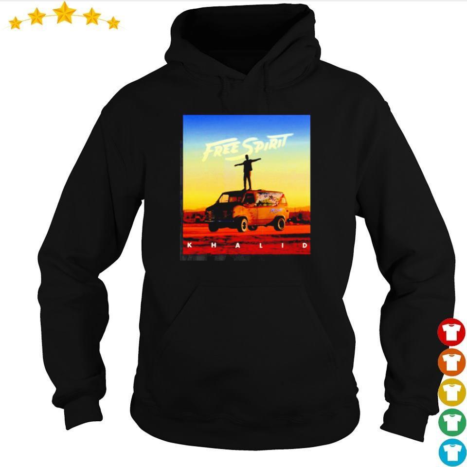 Official Khalid free spirit s hoodie