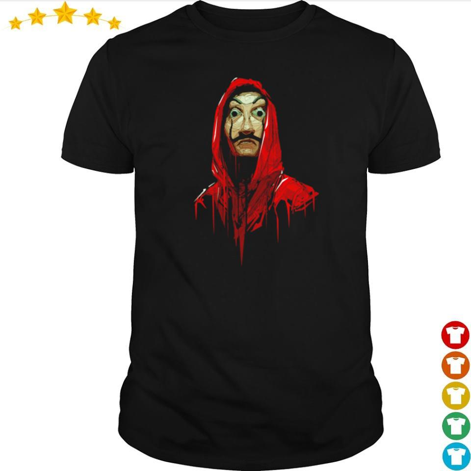 Official Money Heist dali poly costume shirt