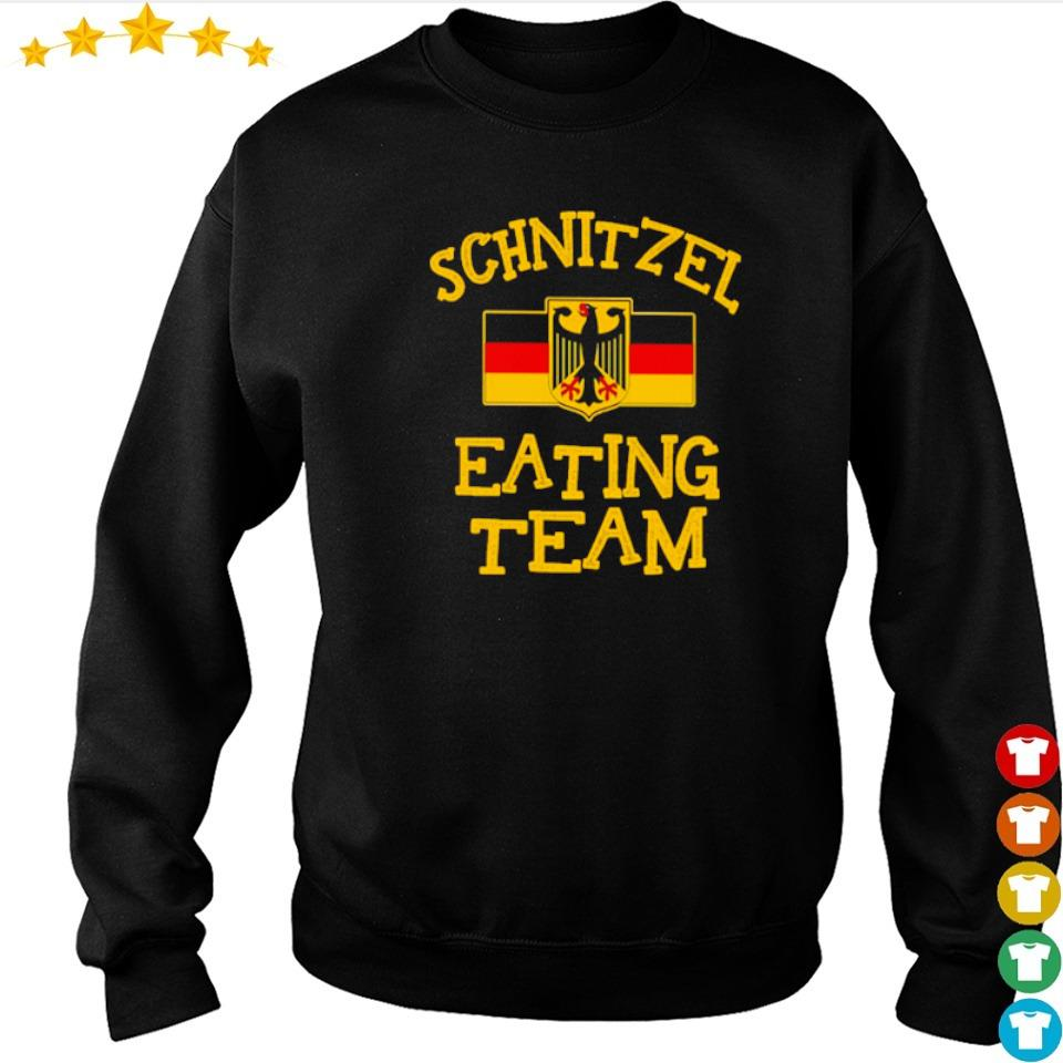 Official Schnitzel eating team s sweater