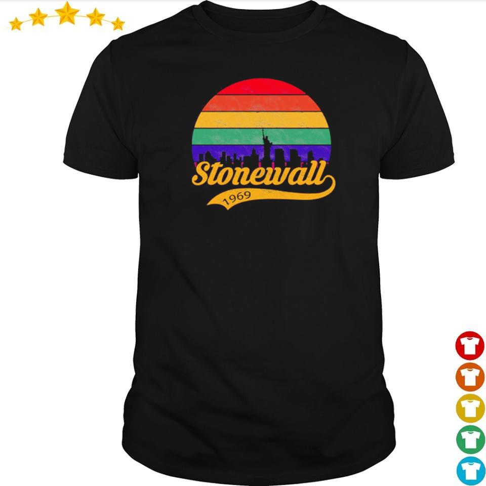 Official stonewall 1969 vintage shirt