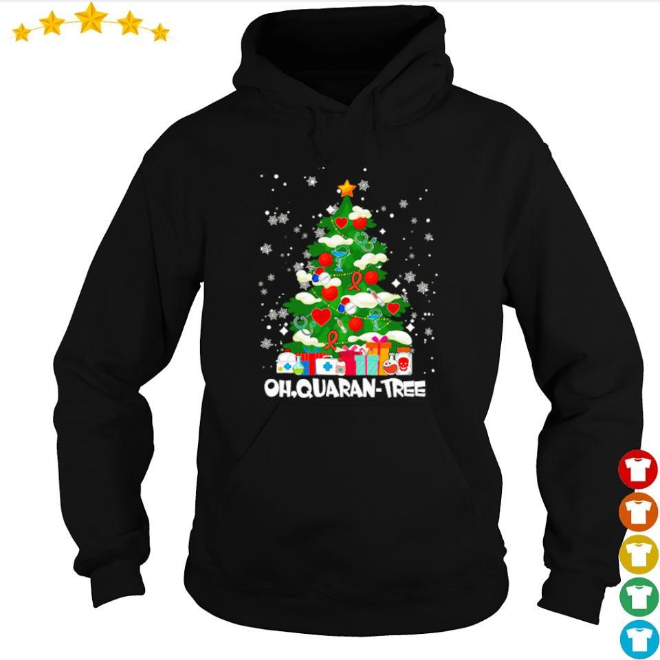 Ohquarantree merry quarantine Christmas s hoodie