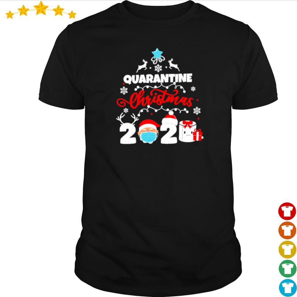 Quarantine merry Christmas 2020 shirt