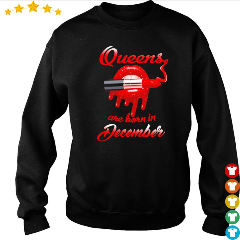 Queens are born in december s sweater