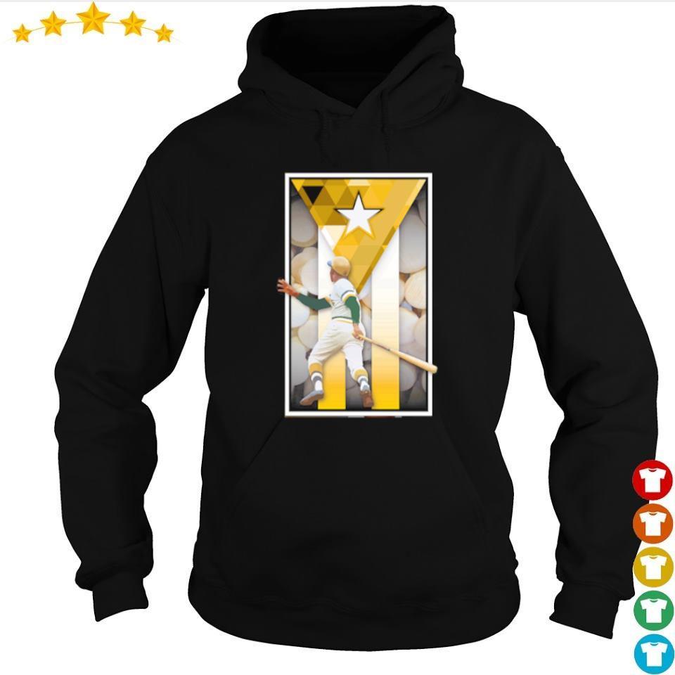 Roberto Clemente swinging s hoodie