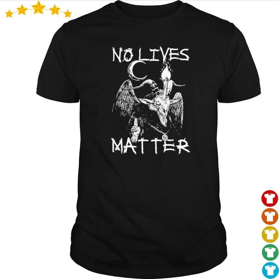 Satan 666 no lives matter shirt