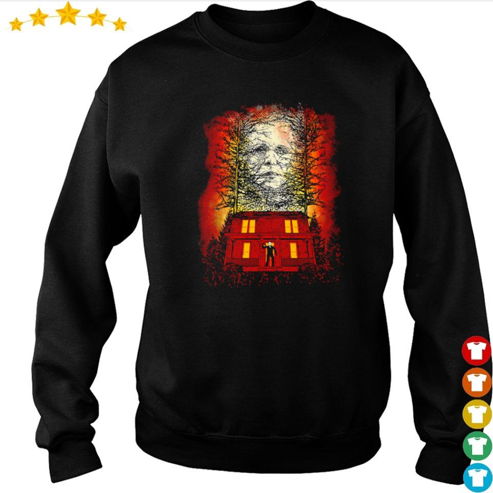Scary Jason Voorhees face happy Halloween s sweater