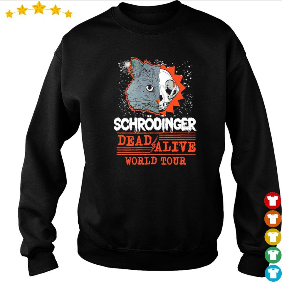 Schrodinger dead and alive world tour s sweater