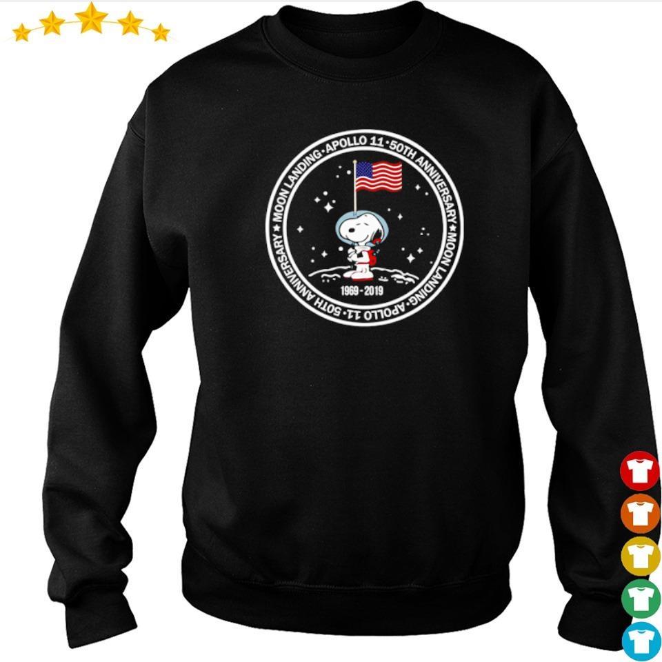 Snoopy Apollo 11 50th anniversary moon landing s sweater