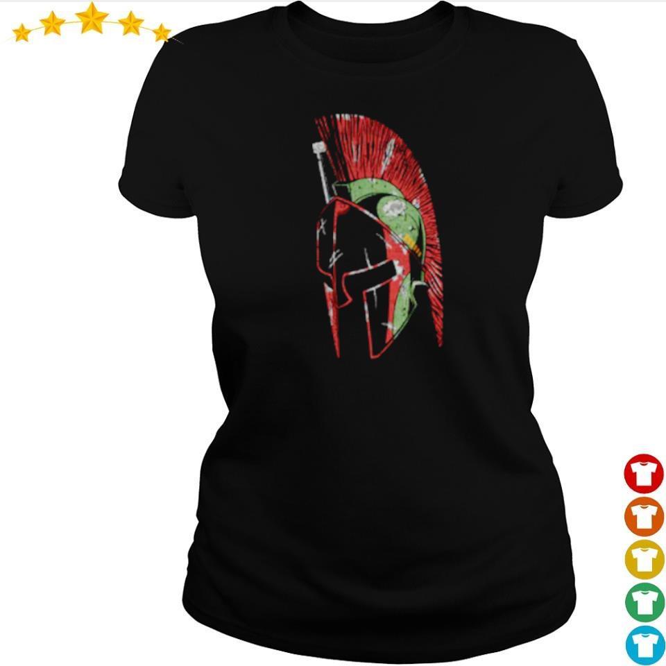 Star Wars The Mandalorian spartan helmet s ladies tee