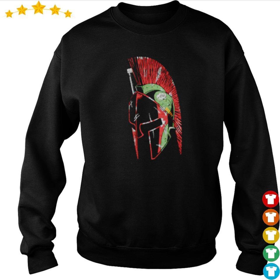 Star Wars The Mandalorian spartan helmet s sweater