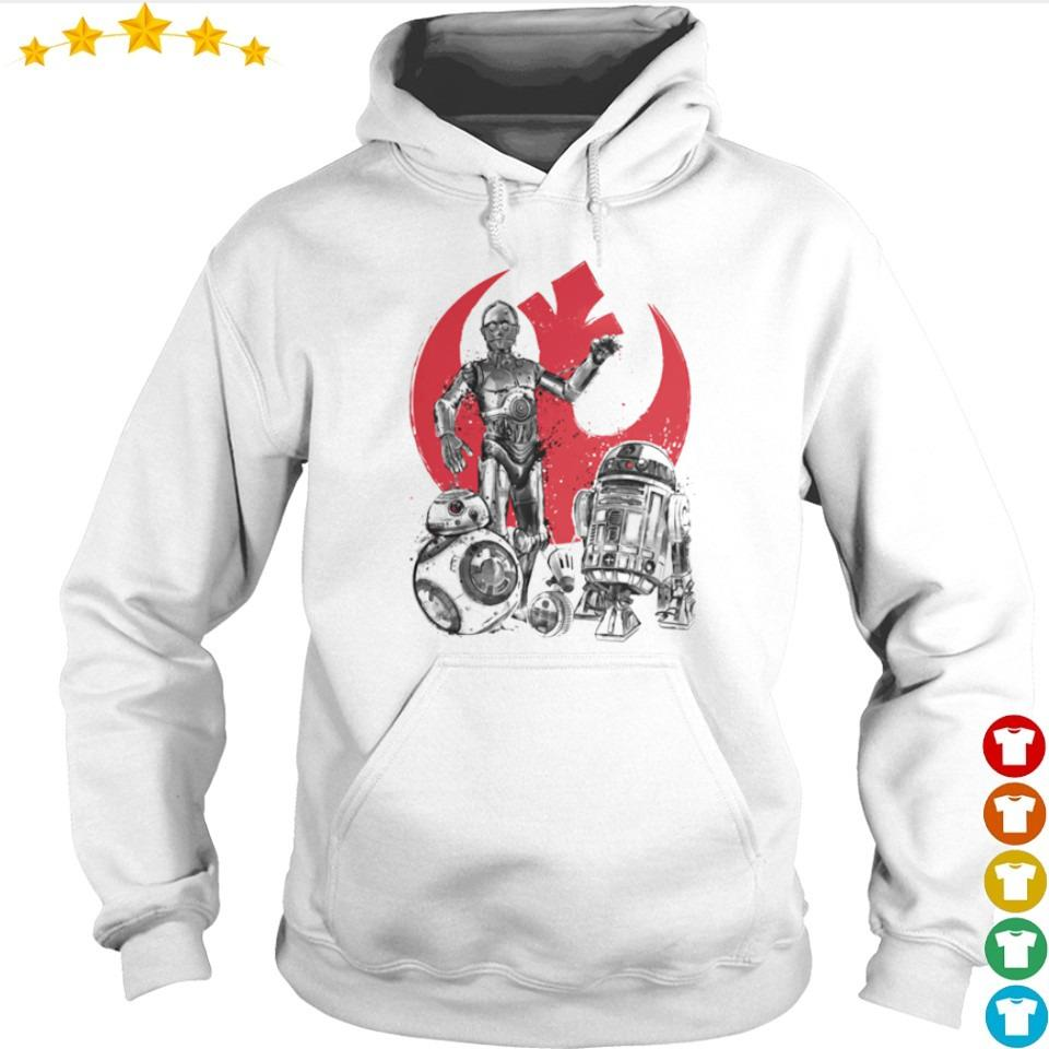 Star Wars the rise of droids s hoodie