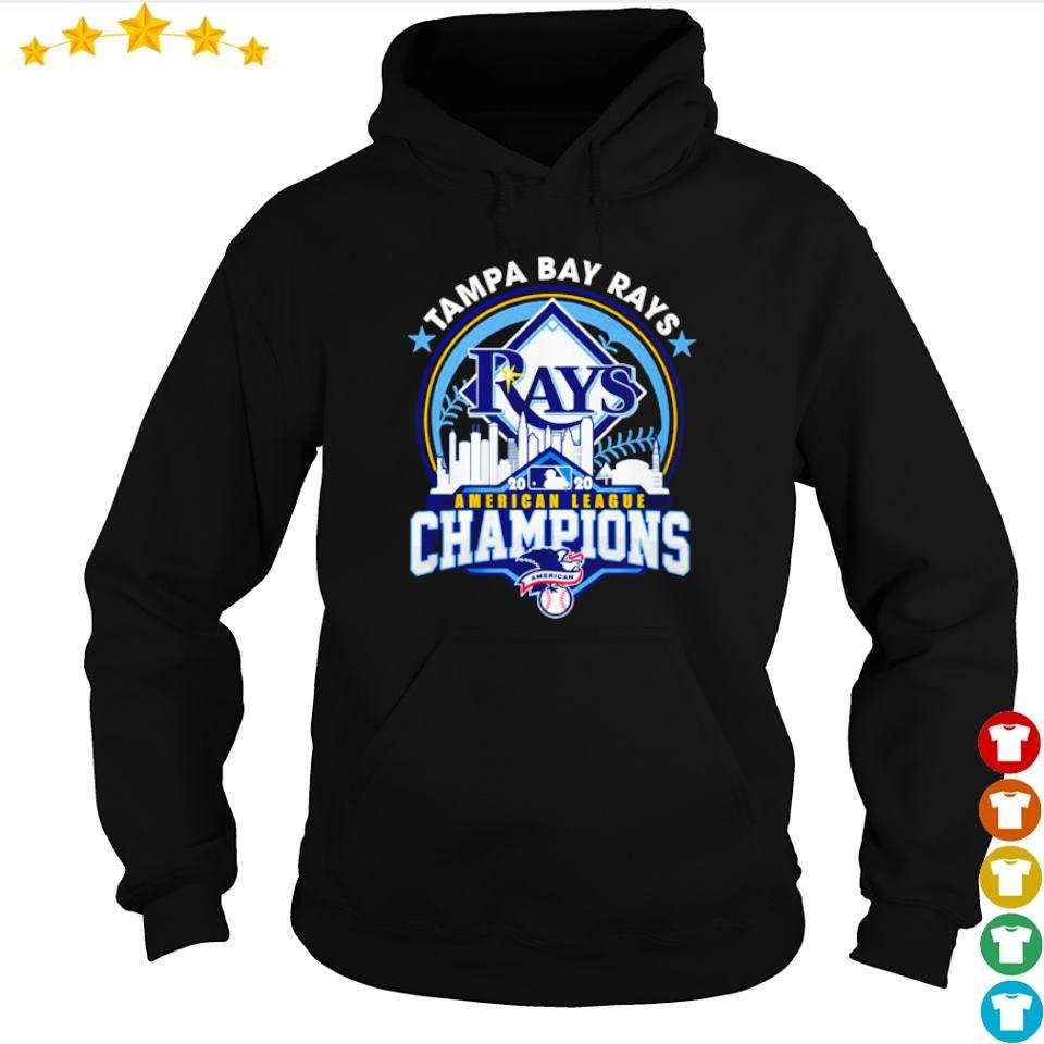 Tampa Bay Rays American League Champions s hoodie