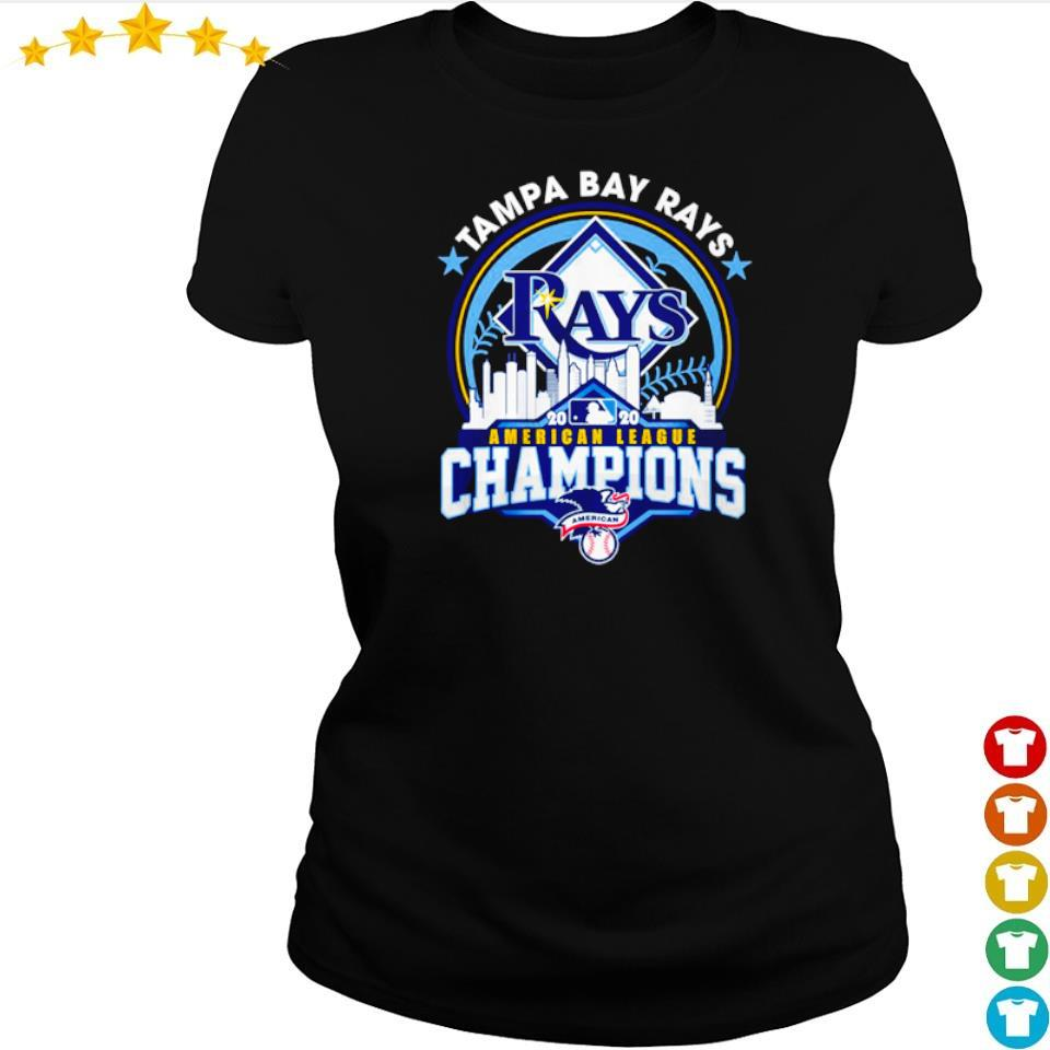 Tampa Bay Rays American League Champions s ladies tee