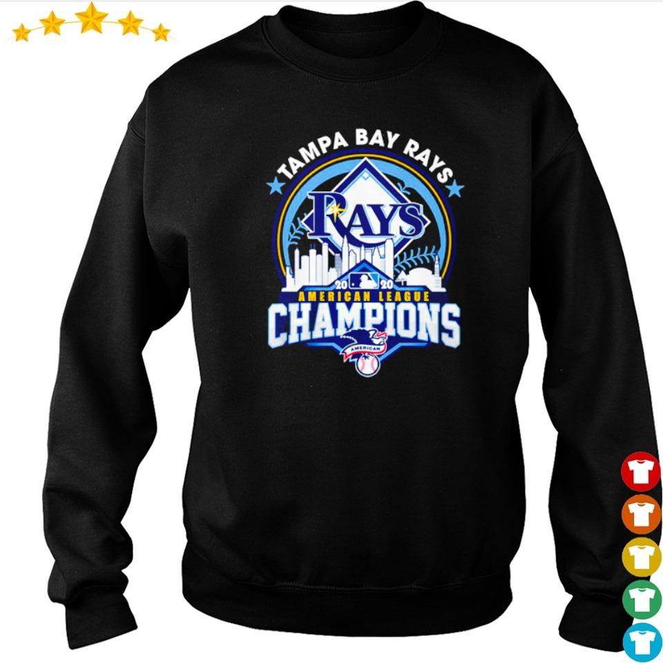 Tampa Bay Rays American League Champions s sweater