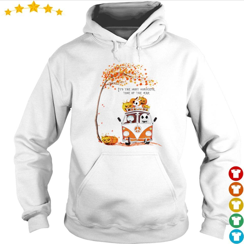 The nightmare before christmas it's the most wonderful time of the year s hoodie