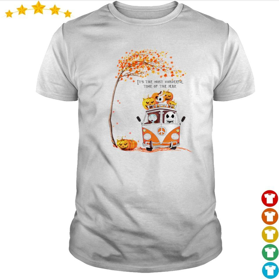 The nightmare before christmas it's the most wonderful time of the year shirt