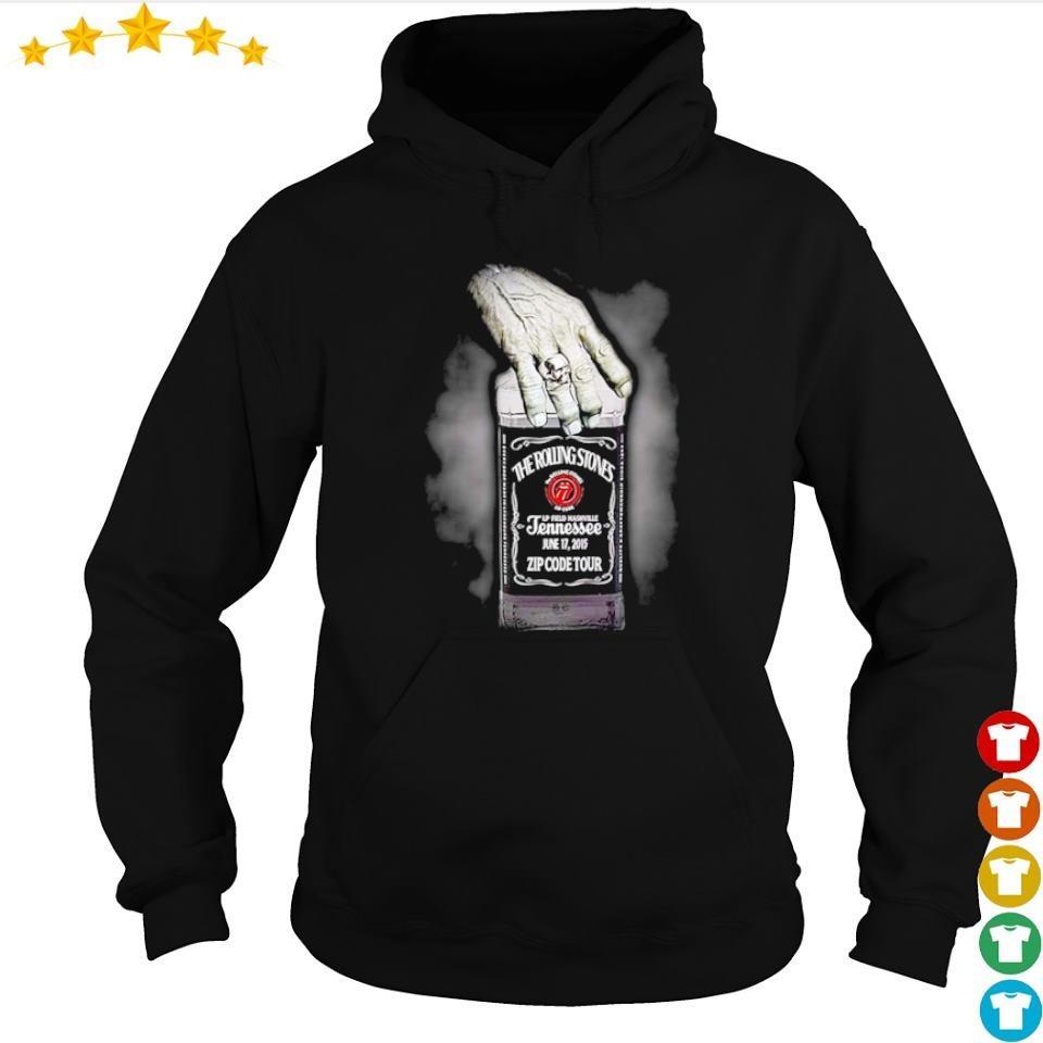 The Rolling Stones jennessee jun 17 2015 zip code tour s hoodie