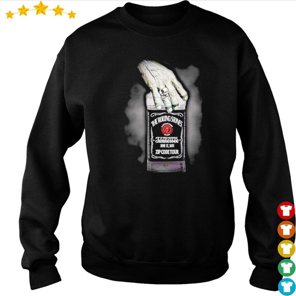 The Rolling Stones jennessee jun 17 2015 zip code tour s sweater