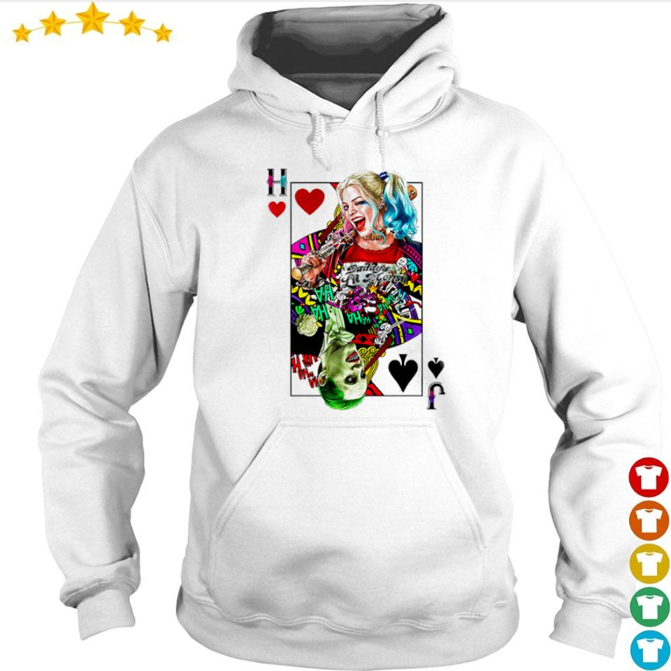 The Suicide Squad Harley Quinn and Joker s hoodie