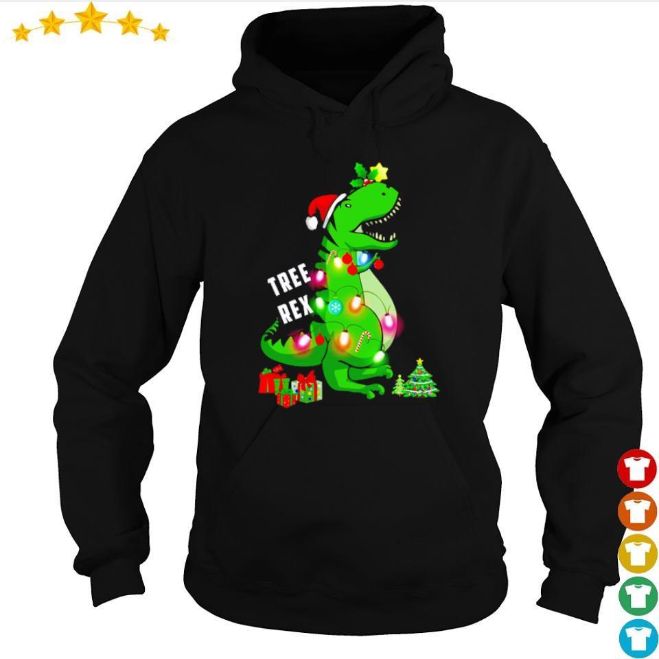 Tree Rex merry Christmas s hoodie