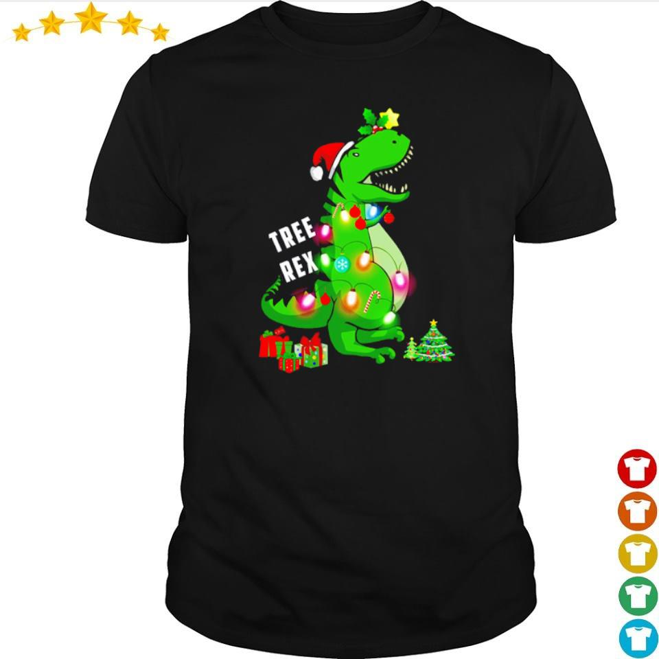 Tree Rex merry Christmas shirt