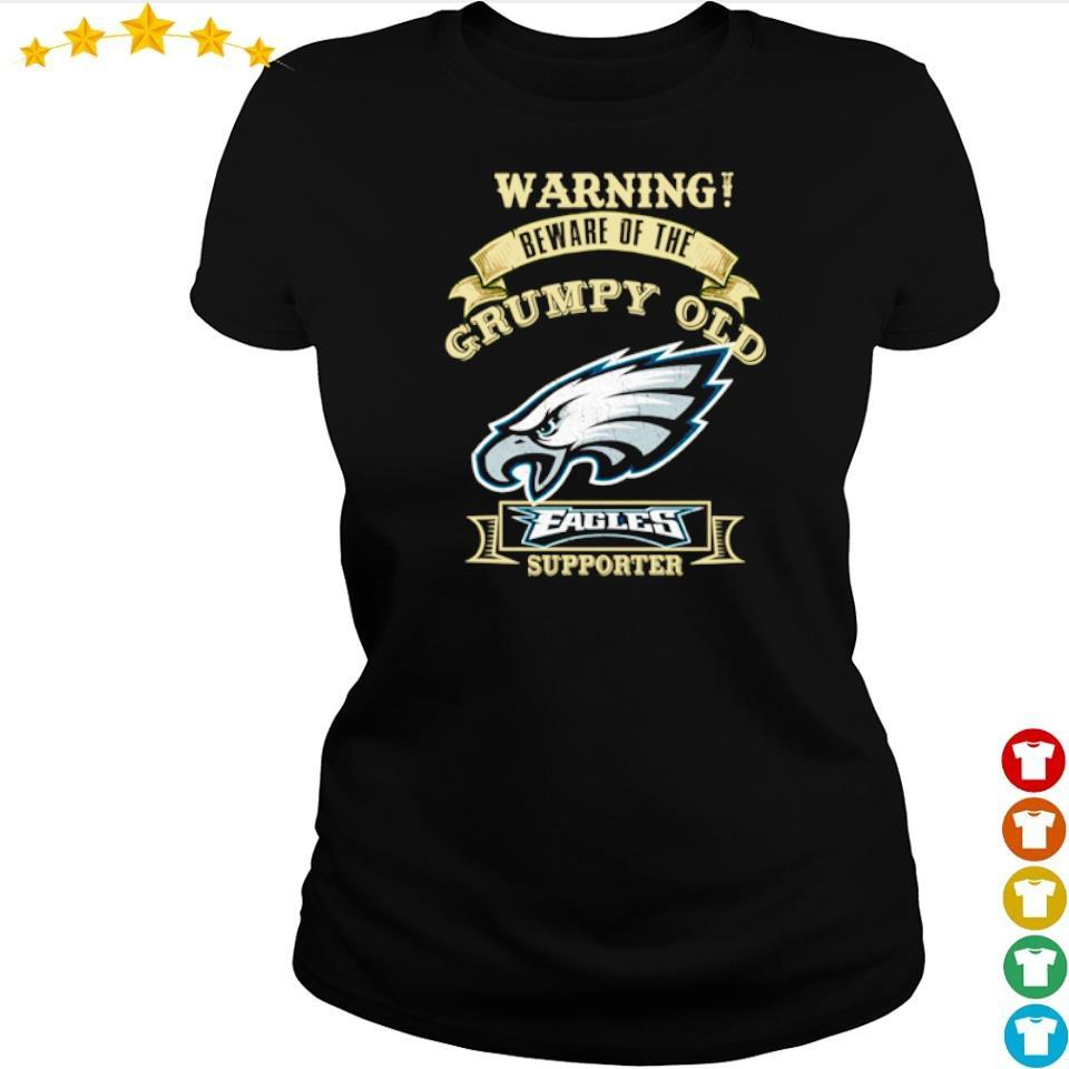 Warning beware of old Philadelphia Eagles supporter s ladies tee