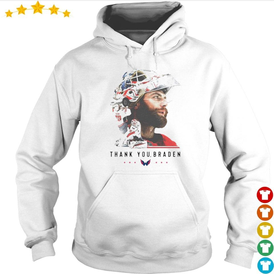 Washington Capitals thank you Braden Holtby s hoodie