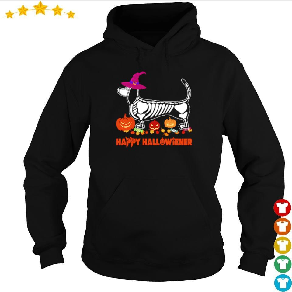 Wiener tattoo skeleton happy Hallowiener s hoodie