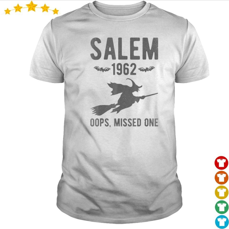 Witch salem 1962 oops missed one shirt