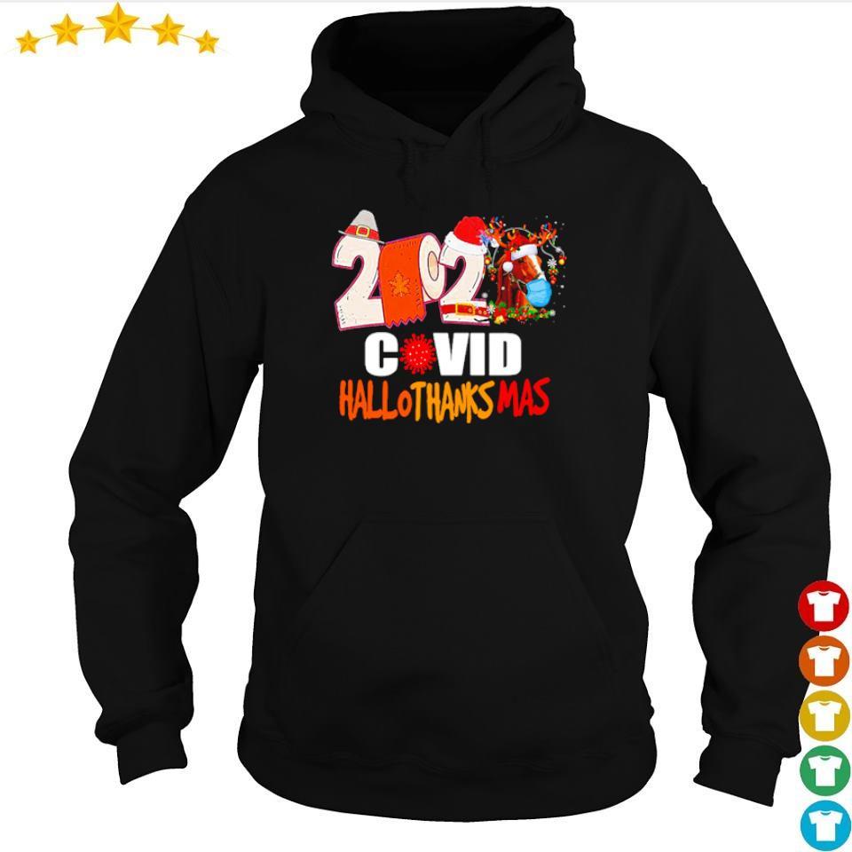 2020 covid hallothanksmas sweater hoodie