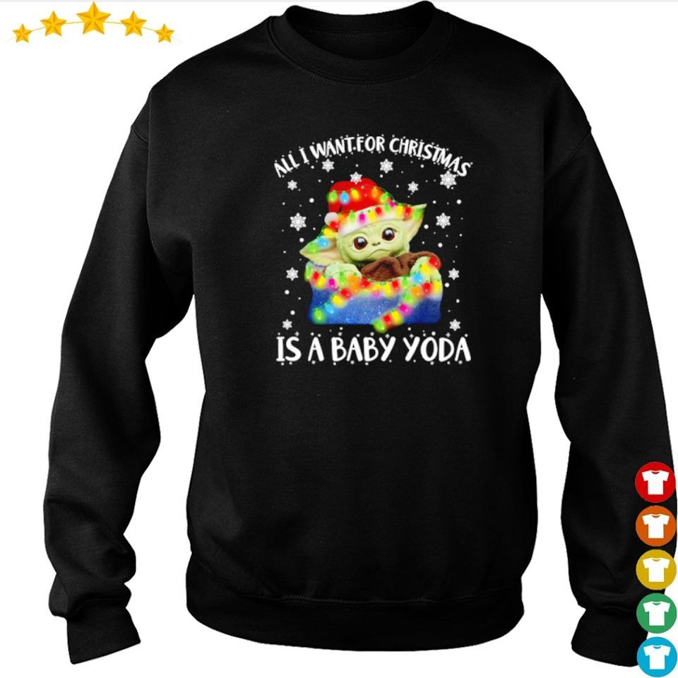 All I want for Christmas is a Baby Yoda sweater