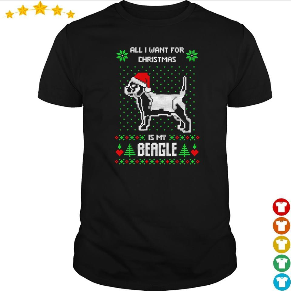 All I want for Christmas is my Beagle sweater shirt