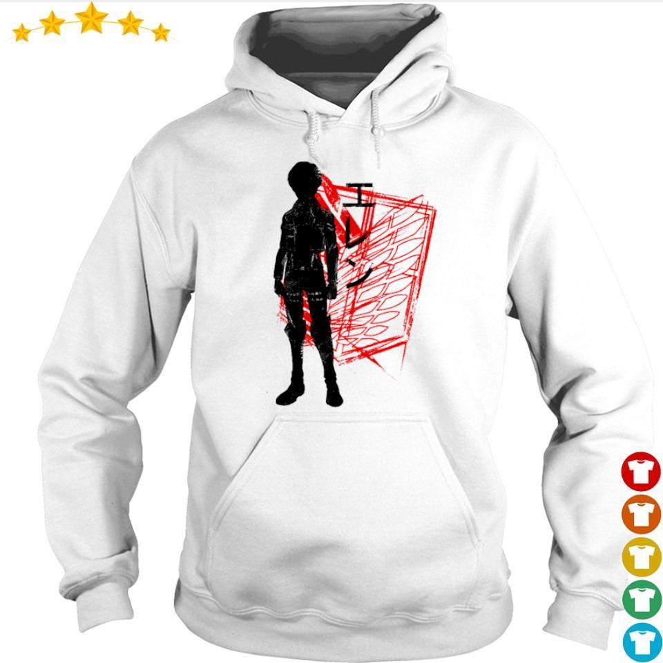 Attack On Titan Eren art s hoodie