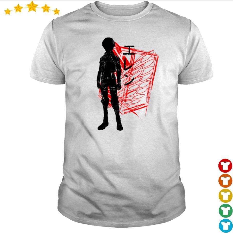 Attack On Titan Eren art shirt