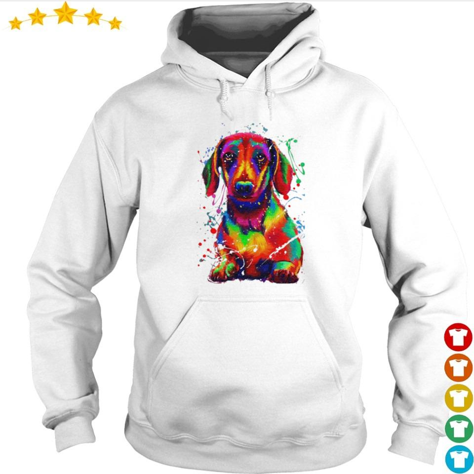 Awesome dachshund full color s hoodie