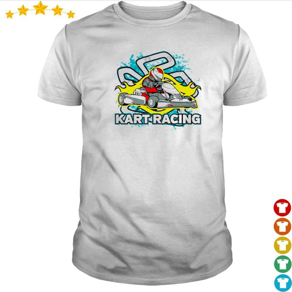 Awesome game go kart racing shirt