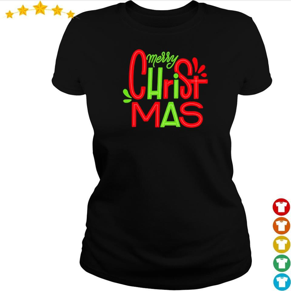 Awesome merry Christmas 2020 sweater ladies tee