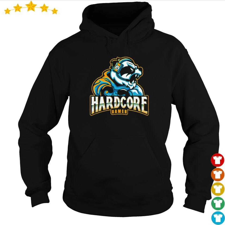 Awesome panda hardcore gamer s hoodie
