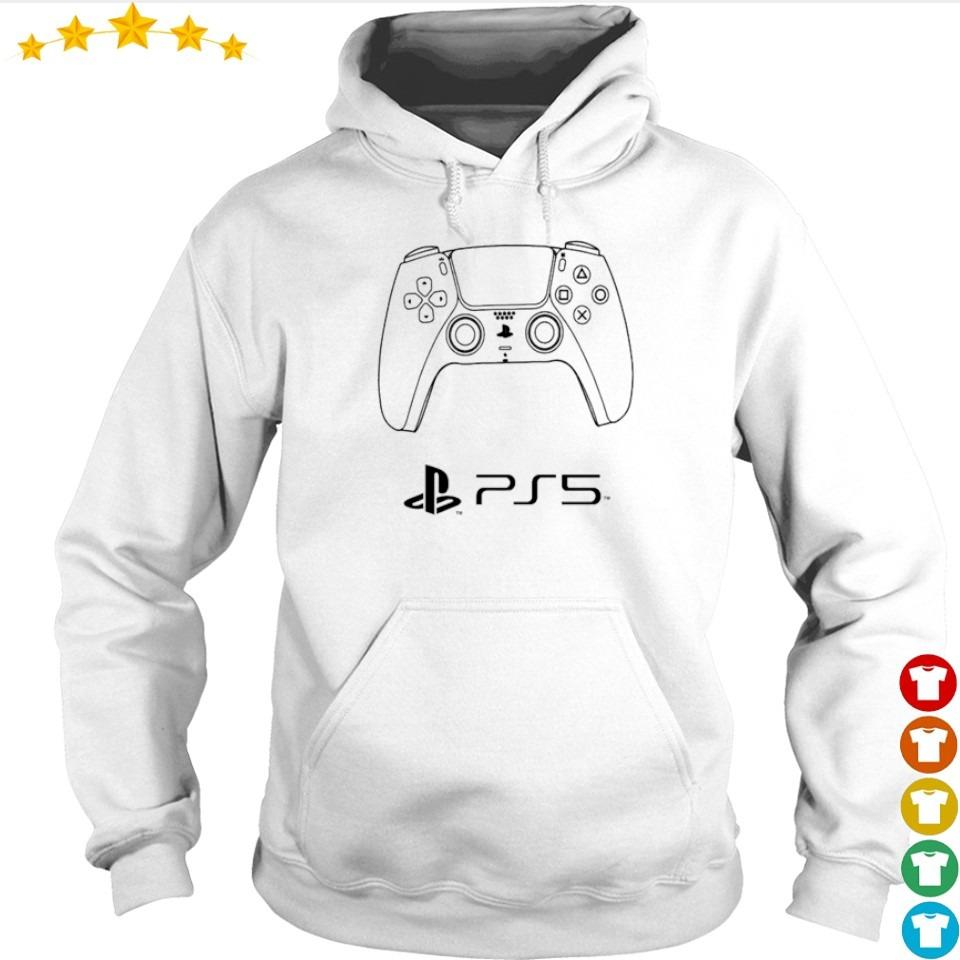 Awesome PS5 game controller s hoodie