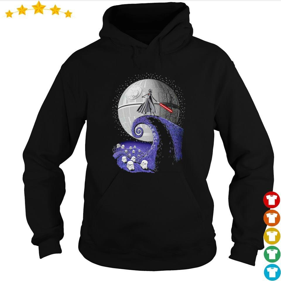 Darth Vader wars nightmare before Christmas sweater hoodie