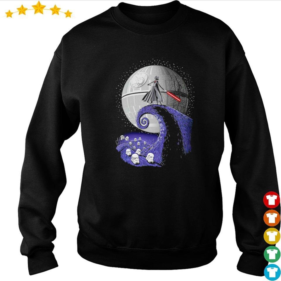 Darth Vader wars nightmare before Christmas sweater