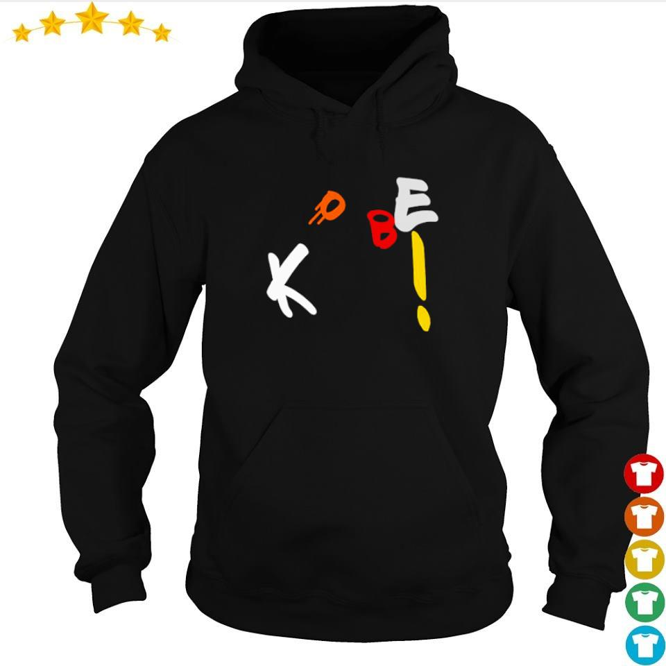 Funny Kobe Bryant throw the basketball s hoodie