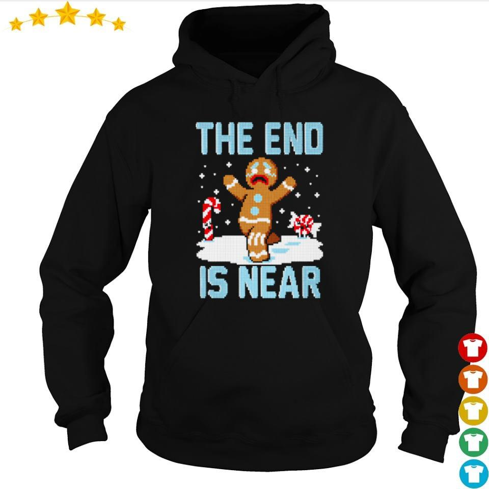 Ginger the end is near happy Christmas sweater hoodie