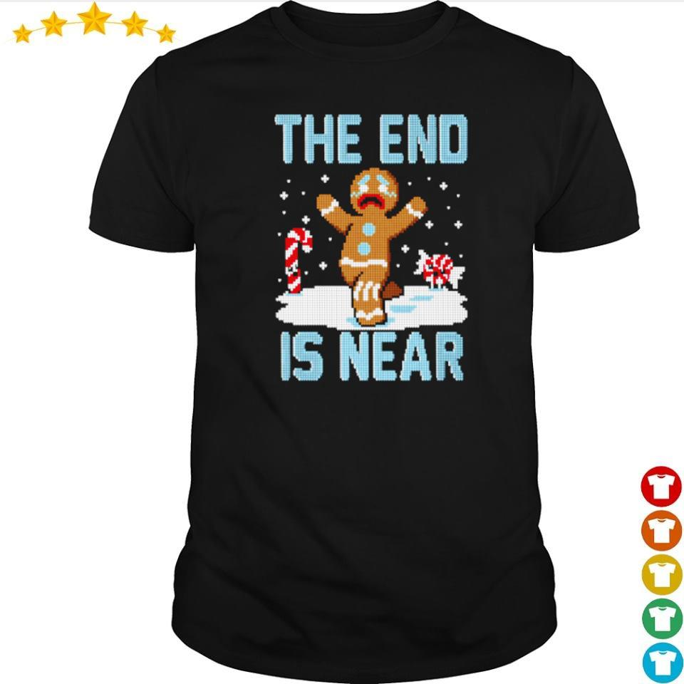 Ginger the end is near happy Christmas sweater shirt