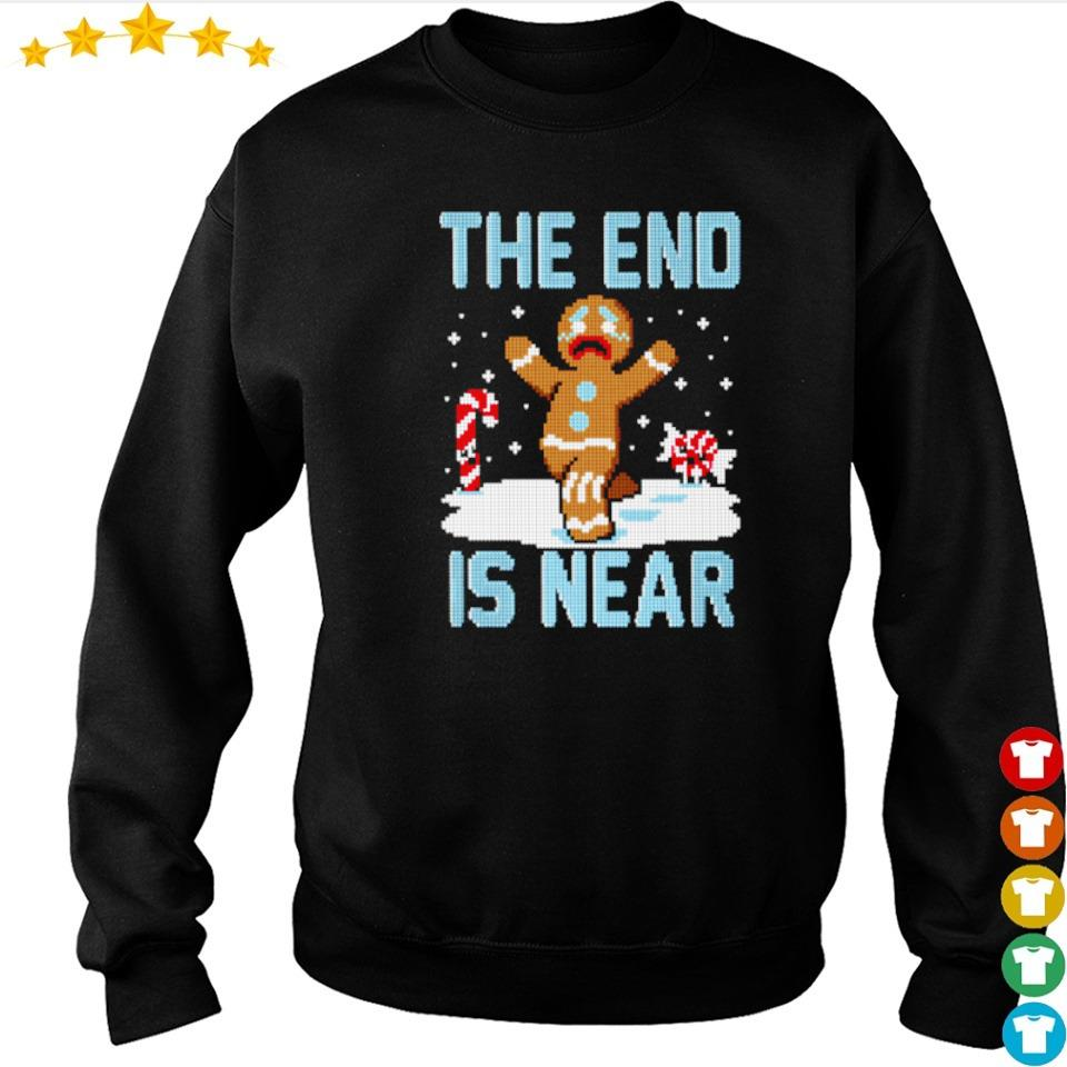 Ginger the end is near happy Christmas sweater